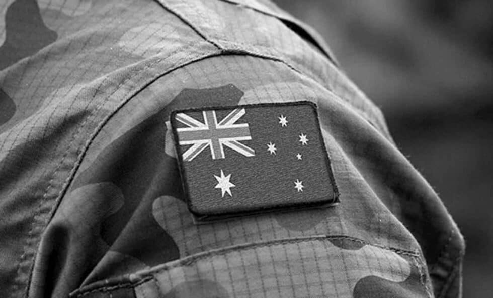Australian army patch